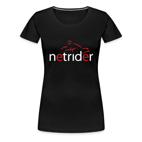 Netrider Logo - Women's Premium T-Shirt