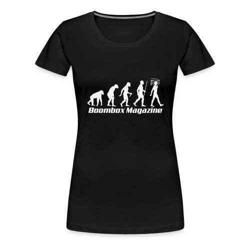Evolution of Man White - Women's Premium T-Shirt