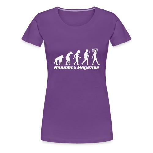 Evolution of Man White - Women's Premium T-Shirt