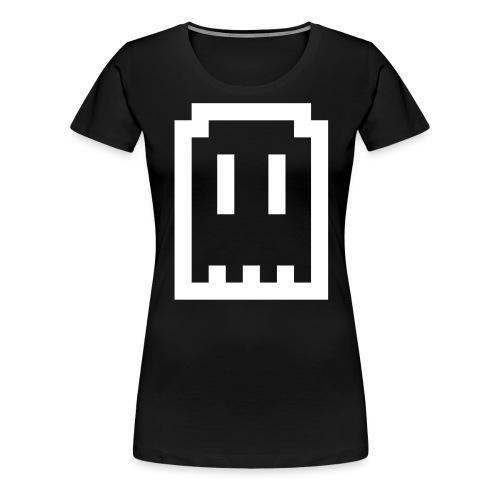 Ghost Logo - Women's Premium T-Shirt