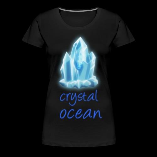 crystal man 75 - Women's Premium T-Shirt