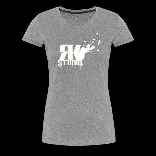 RKStudio White Logo Version - Women's Premium T-Shirt