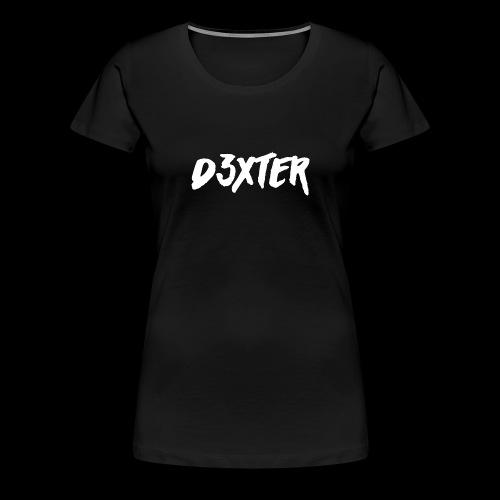 D3XTER - Women's Premium T-Shirt