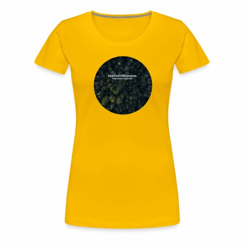 "InovativObsesion ""TREE TOP"" apparel - Women's Premium T-Shirt"