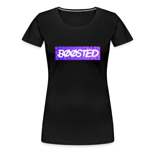 BOOSTED - Women's Premium T-Shirt