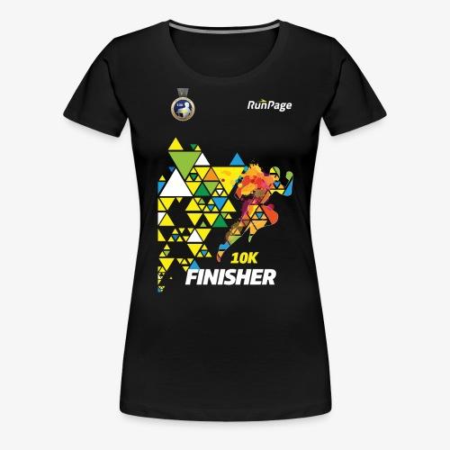 10K Finisher Shirt - Women's Premium T-Shirt