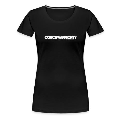 COUCHWARRIORTV Logo Gear - Women's Premium T-Shirt