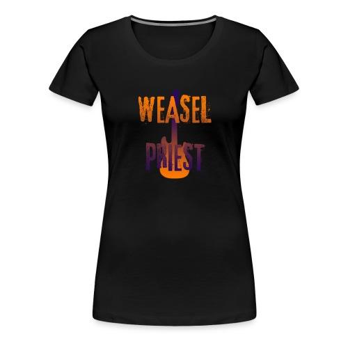 Weasel Priest Gradient Design - Women's Premium T-Shirt