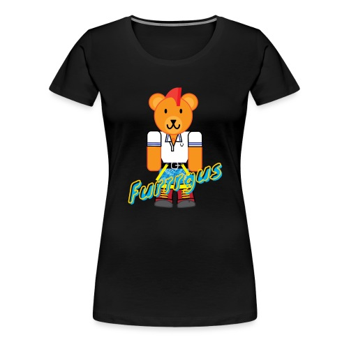 Skinhead Furrrgus - Women's Premium T-Shirt