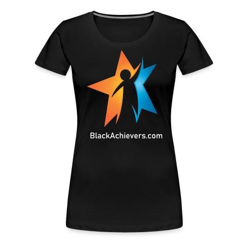 Black Achievers Designer Logo - Women's Premium T-Shirt