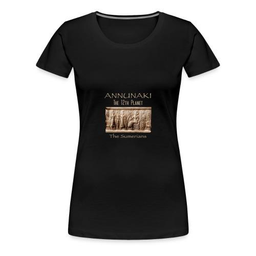 Annunaki 12th planet - Women's Premium T-Shirt