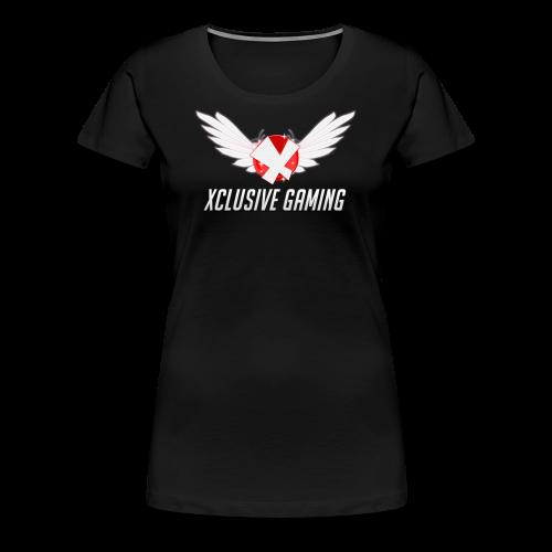 Xclusive gaming oversized logo - Women's Premium T-Shirt