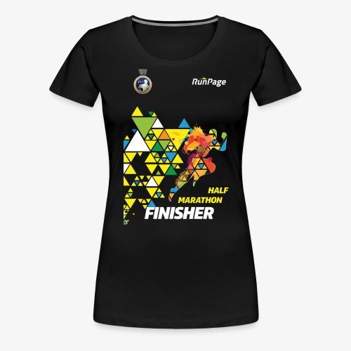 Half Marathon Finisher Shirt - Women's Premium T-Shirt