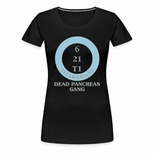 Dead Pancreas Gang - Women's Premium T-Shirt