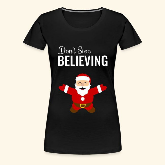 santa claus don t stop believing