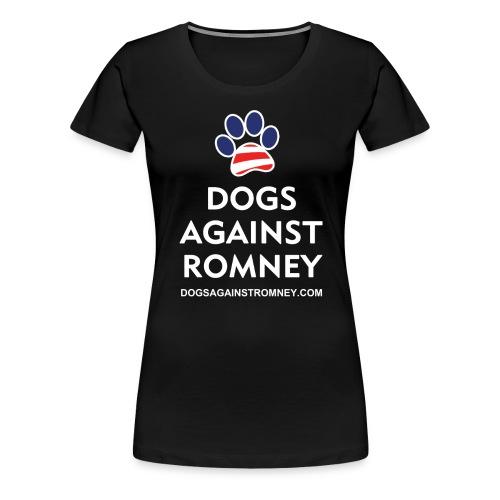darusapawshirts white300dpi - Women's Premium T-Shirt