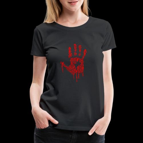 The Haunted Hand Of Zombies - Women's Premium T-Shirt