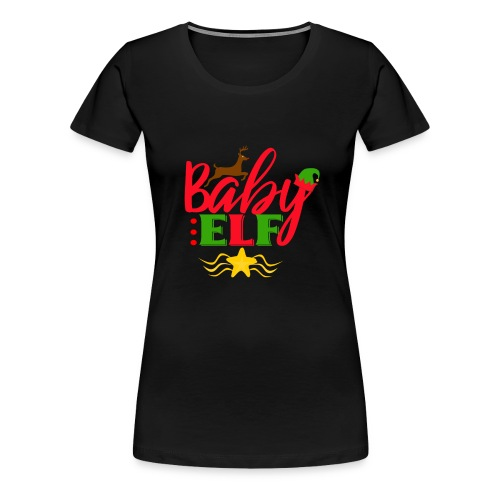 Baby Elf christmas - Women's Premium T-Shirt
