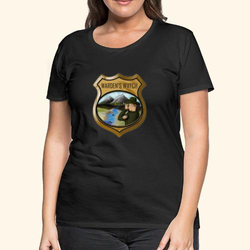 Warden s Watch Front and Back - Women's Premium T-Shirt