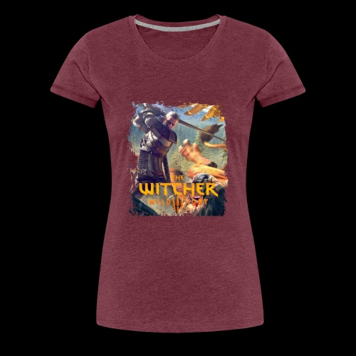 The Witcher 3 - Griffin - Women's Premium T-Shirt