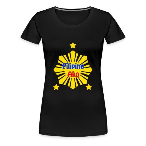 Filipino Ako T Shirt - Women's Premium T-Shirt