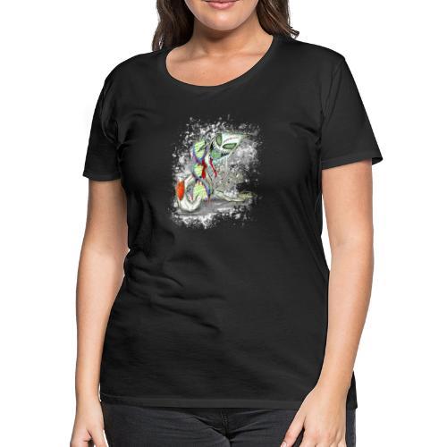 humanity is genocide - Women's Premium T-Shirt