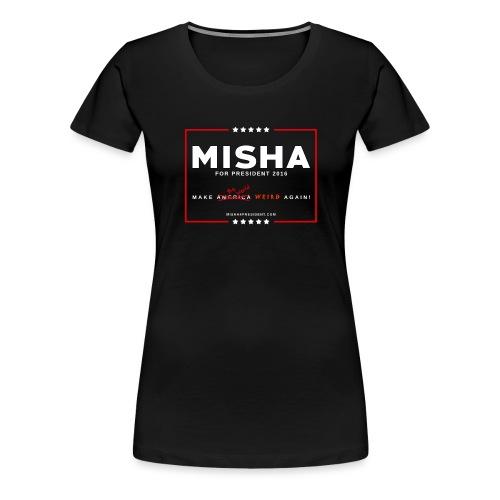 Make The World Weird! - Women's Premium T-Shirt