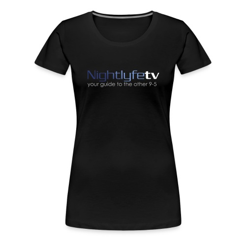 NTV Logo Full - Women's Premium T-Shirt