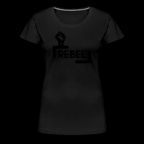 Black Rebel logo - Women's Premium T-Shirt