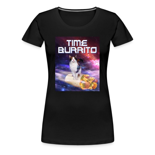 Time Burrito - Women's Premium T-Shirt