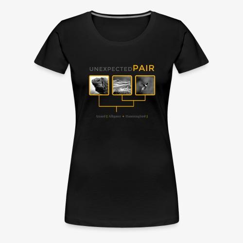 Unexpected pairs - Women's Premium T-Shirt