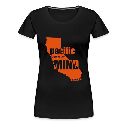 Pacific State of Mind - Women's Premium T-Shirt