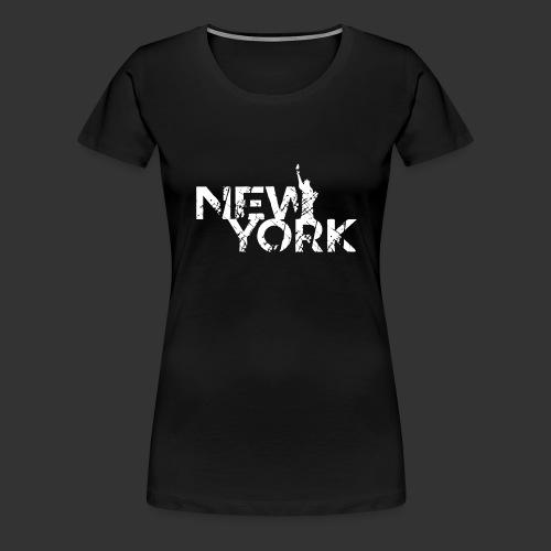 New York (Flexi Print) - Women's Premium T-Shirt