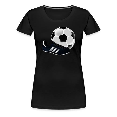 soccer png - Women's Premium T-Shirt