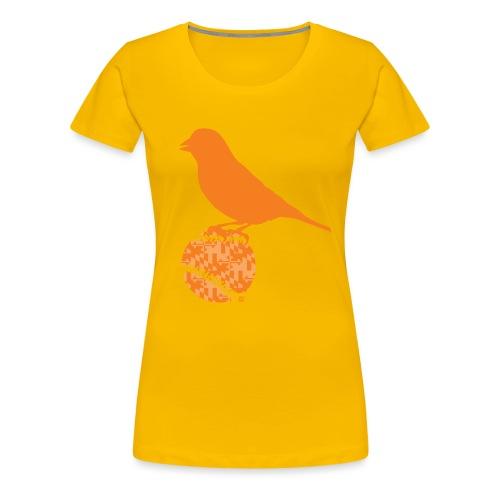 OrioleFlagonBlack - Women's Premium T-Shirt