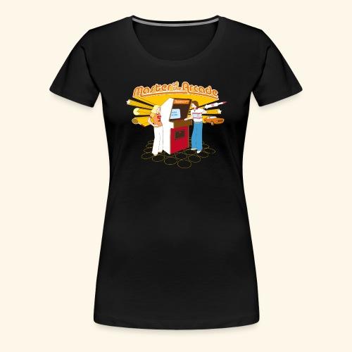 Master of the Arcade - Women's Premium T-Shirt