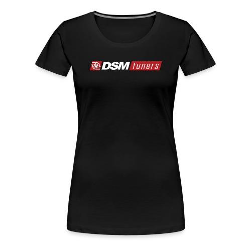 DSMtuners Logo White Text - Women's Premium T-Shirt