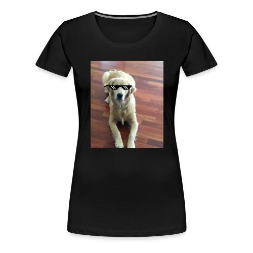 Like a boss (Golden Retriver) - Women's Premium T-Shirt