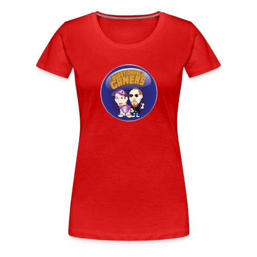 Questionable Gamers Shirt png - Women's Premium T-Shirt