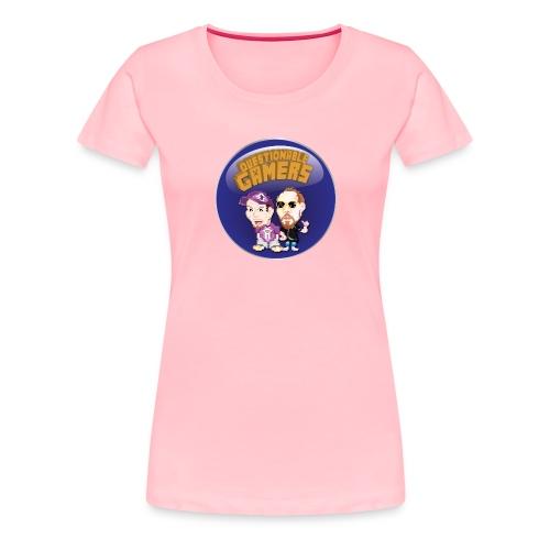Questionable Gamers Shirt png - Women's Premium T-Shirt