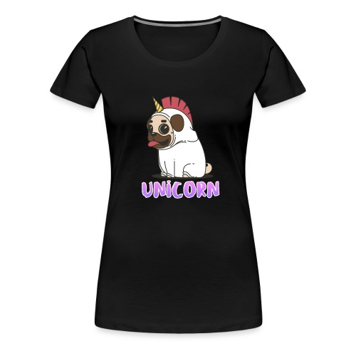 unicorn dog - Women's Premium T-Shirt