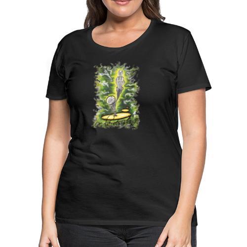 vive la résistance green - Women's Premium T-Shirt
