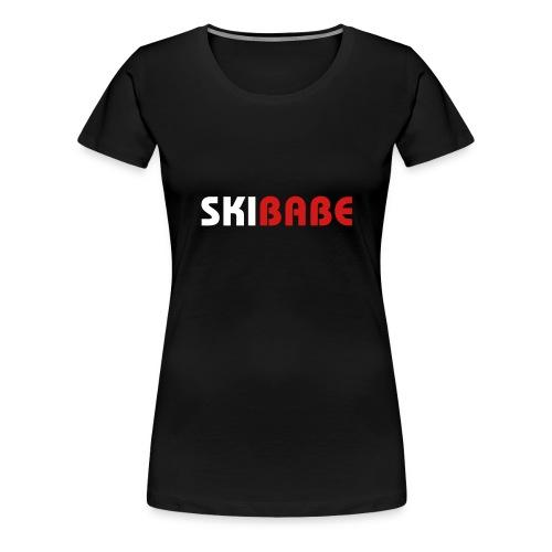 Ski Babe - Women's Premium T-Shirt