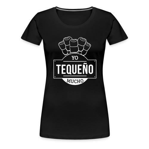 Tequeño Mucho T-Shirt - Black - Women's Premium T-Shirt