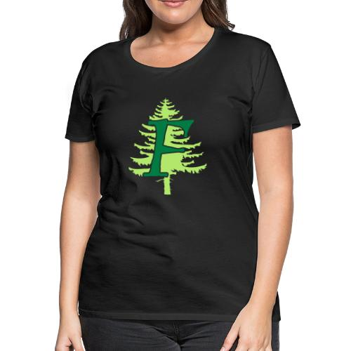 Ffynnon simple logo - Women's Premium T-Shirt