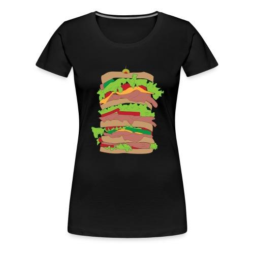 The Dagwood - Women's Premium T-Shirt