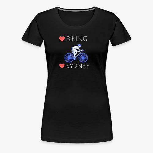 Love Biking Love Sydney tee shirts - Women's Premium T-Shirt