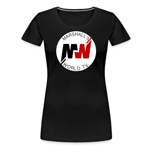 Marshalls World Tv - Women's Premium T-Shirt