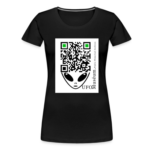 UFO Muséum Public Historical Archives - Women's Premium T-Shirt