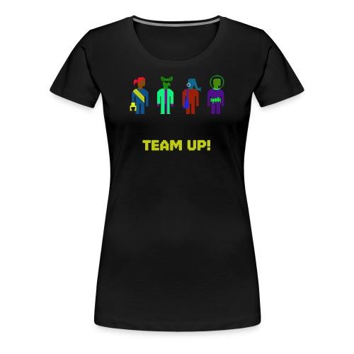 Spaceteam Team Up! - Women's Premium T-Shirt
